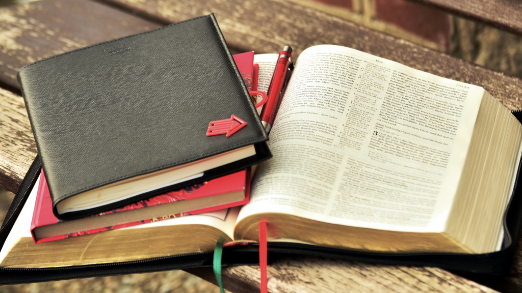 working through hard questions in the Bible